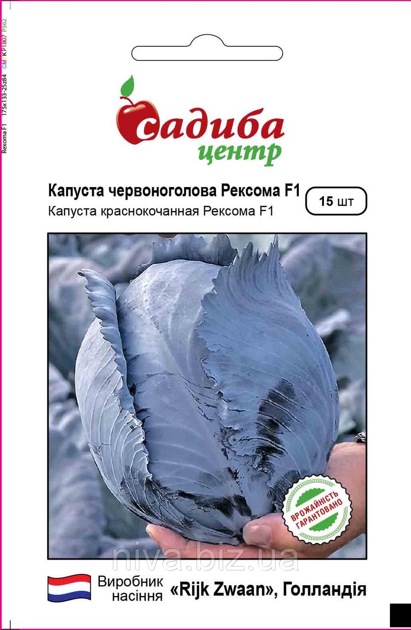 Рексома F1 насіння капусти червонокачанної Садиба Rijk Zwaan 15 семян