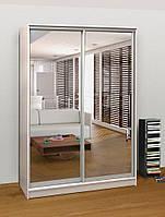 Шкаф купе зеркальный (130х60х240), фото 1