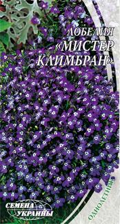 Миссис Клибран семена лобелии Семена Украины 0,10 г
