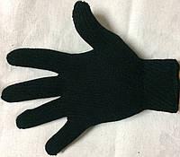 Мужская вязанная двойная перчатка турецкая