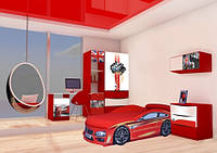 Комплект детской мебели БМВ красная