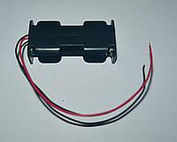 Держатель для аккумуляторов, 2x14500 (2xAA)