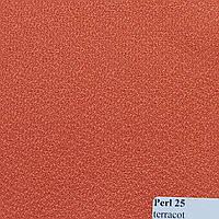 Рулонні штори Тканина Pearl Теракот 25