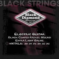 Black Diamond  Струны для электрогитары BLACK DIAMOND N477XLB