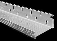 Профиль цокольный AL (стартовый) алюминиевый 53 мм. 2.5 м.п.