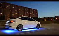 Неонаовая подсветка днища автомобиля 4 полосы.