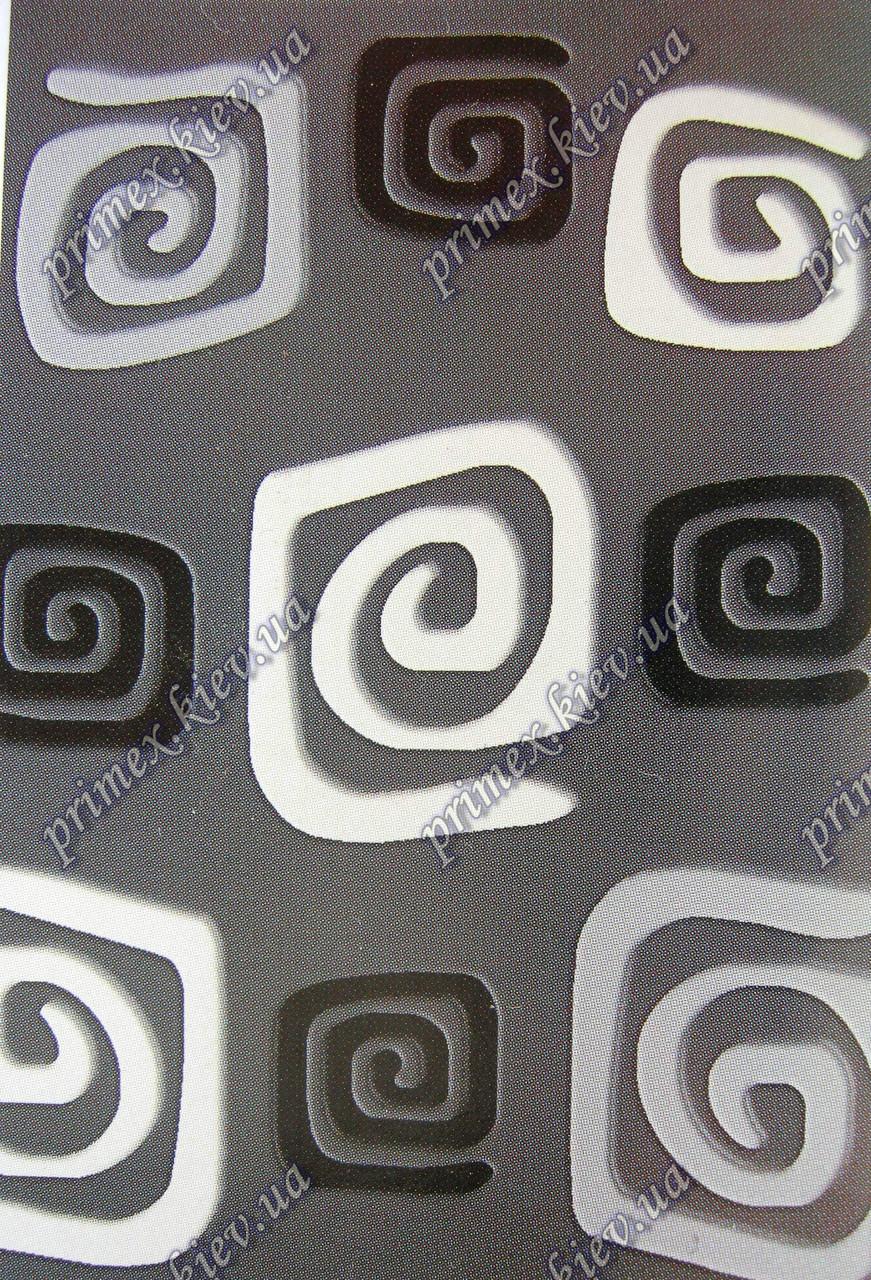 """Рельефный ковер Фрузе """"Крит"""", цвет серый"""