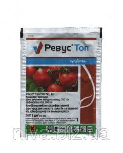 Ревус Топ 500 ЕС фунгіцид для захисту томатів та картоплі від фітофторозу, альтернаріозу Syngenta 12 мл