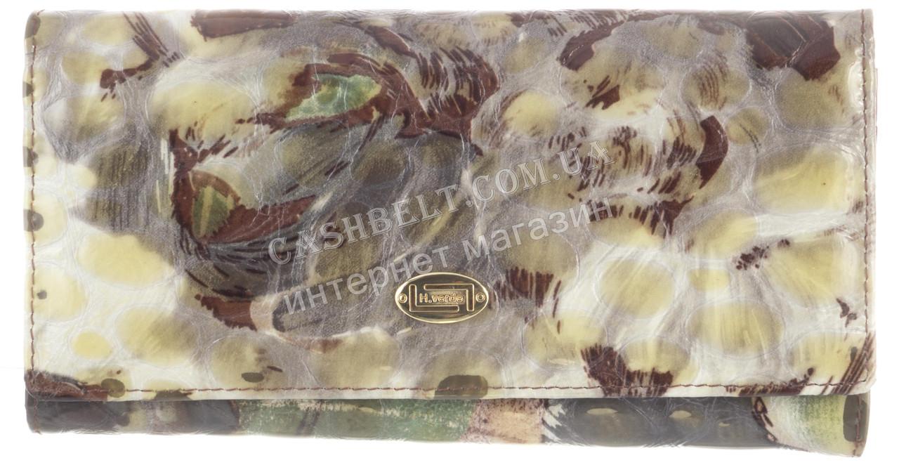 Стильный женский классический кожаный лаковый кошелек высокого качества SALFEITE art. 2551T-E04 разные цвета