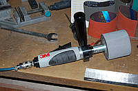 3M 28339 - Ленточная пневматическая шлифовальная машина барабанного типа, 76х272 мм