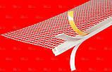 Профиль примыкающий оконный самоклеящийся ПВХ с сеткой 2,5М, фото 2
