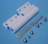 Петля дверная для алюминиевого профиля с европазом (14 - 18 мм)