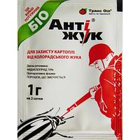 Антижук инсектицид для защиты картофеля от колорадского жука 1 г