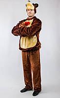 """Карнавальный костюм медведя для взрослого """"Маша и медведь"""" (СВИК)"""