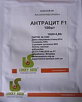 Антрацит F1 насіння баклажану Lucky Seed 100 насінин