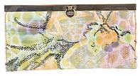 Стильный женский классический кожаный лаковый кошелек высокого качества SALFEITE art. 2263T--E05 разные цвета