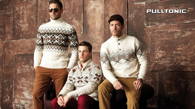 Мужские теплые свитера