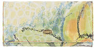 Стильный женский классический кожаный лаковый кошелек высокого качества SALFEITE art. 2030T-E05 разные цвета