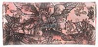 Стильный женский классический кожаный лаковый кошелек высокого качества SALFEITE art. 2447-D54 розовый