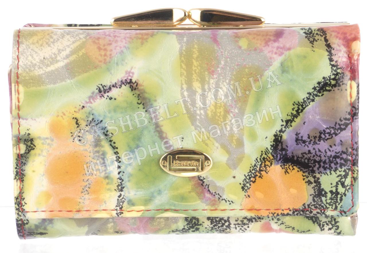 Компактный женский классический кожаный лаковый кошелек высокого качества SALFEITE art. 2103T-E05 разные цвета