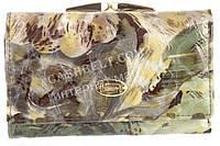 Компактный женский классический кожаный лаковый кошелек высокого качества SALFEITE art. 2103T-E04 разные цвета