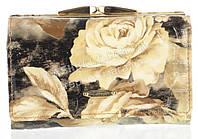 Компактный женский классический кожаный лаковый кошелек высокого качества SALFEITE art. 2103-D82 разные цвета