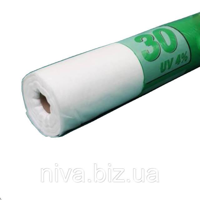 Агроволокно Біле 30 г/м 6,35*250 м Агрін