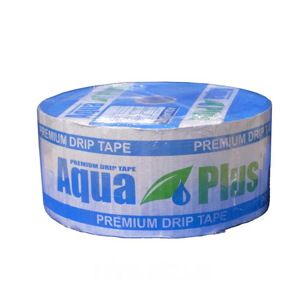 Крапельна стрічка Аква Плюс AquaPlus 8 mil через 10 см 1 000 л на годину щілинна 2 300 м