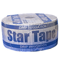 Крапельна стрічка Стар Тейп Star Tape 8 mil через 10 см 750 л на годину щілинна 500 м