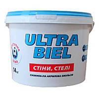 Краска Снежка УЛЬТРА БЕЛЬ 1,4 кг (Яворів)