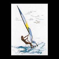 Набор для вышивки крестом 1010 Виндсерфинг. Windsurfing   (Теа Гувернер)