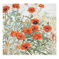 Набор для вышивки крестом 2062 Оранжевые Маки. Orange Poppies  (Теа Гувернер)