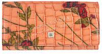 Оригинальный женский классический кожаный кошелек высокого качества LI SHA NA art. LE931-red розовый