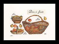 Набор для вышивки крестом 2099 Корзина с яблоками. Apple Basket  (Теа Гувернер)
