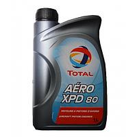 Беззольное минеральное масло для авиационных поршневых двигателей Total AERO XPD 80 канистра 1л