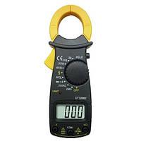 Цифрові електричні кліщі DT3266E, мультитестеры,тестери, мультиметри, струмові кліщі, фото 1
