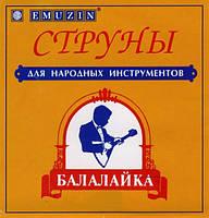 Emuzin Emuzin БПМ Струны для Балалайки Прима металл