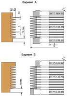 Фрезы для продольного сращивания набираемые в пакет D160-d50-60-B4/14/15,3-z2