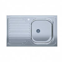 Кухонная мойка 50*80-R Polish полированная 0,4мм