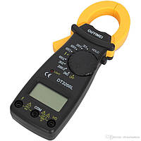 Цифрові струмові кліщі DT3266L, мультитестеры, тестери, мультиметри, кліщі електричні, фото 1