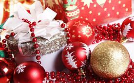 Новогодние украшения и декор