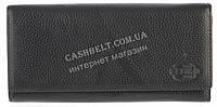 Прочный женский кожаный кошелек высокого качества CEFIRO art. CP512-3065-1 черный