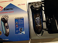 ЭлектроБритва аккумуляторная Domotec MS-7490  3 Вт  Акция !!!