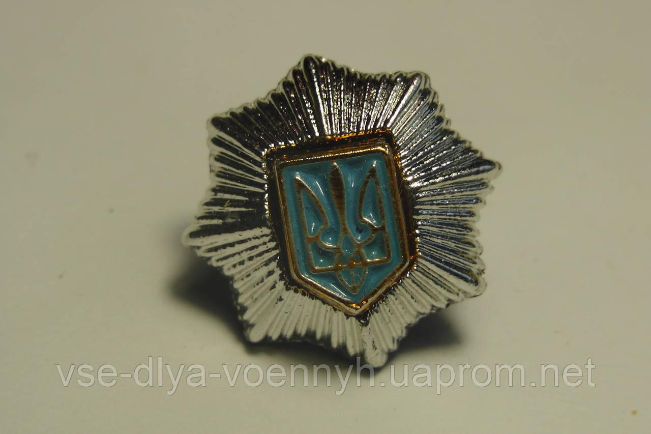 Емблема МВС, срібло
