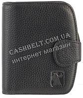 Прочный небольшой женский кожаный кошелек высокого качества CEFIRO art. CE388---301-1 черный