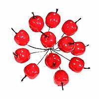 Яблоки декоративные 3 см 10 шт
