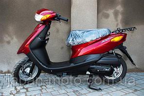 скутер Yamaha SA36J красный +полный пакет документов с номерами