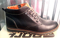 Ботинки мужские Tommy Hilfiger кожаные стильные TH0007