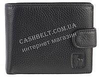 Небольшой стильный кожаный мужской кошелек из мягкой кожи CEFIRO art. CP512-208-1 черный