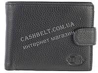 Небольшой стильный кожаный мужской кошелек из мягкой кожи CEFIRO art. CP512-538-1 черный